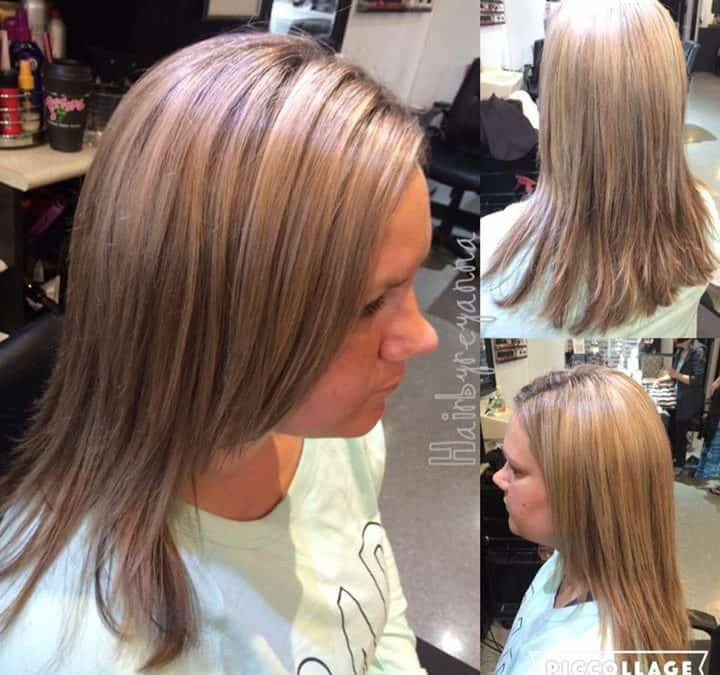 Reyanna is certified in brazilian blowout here at - Addiction hair salon ...
