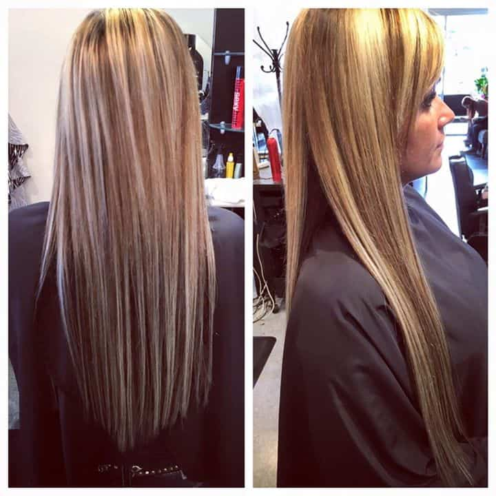 20 inch tape in extensions by chloe hair salon - Addiction hair salon ...