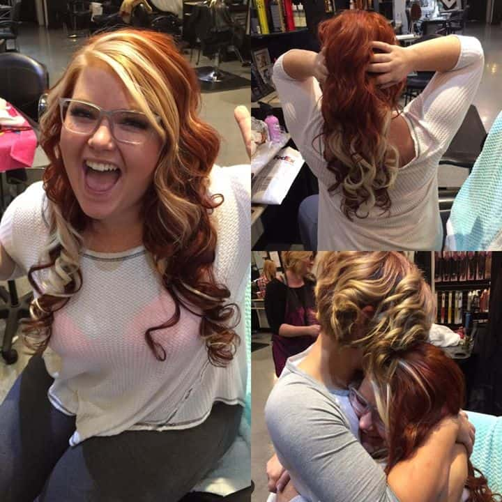 Ashley 39 s amazing work on her bestie hair extensions and - Addiction hair salon ...