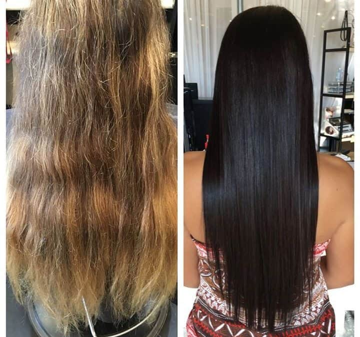 Hair extensions archives best hair salon in cda hair - Addiction hair salon ...
