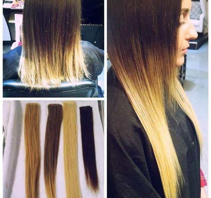 Hey its CHLOE! if u ever wanted to try tape in Extensions now is the time !! 50%…