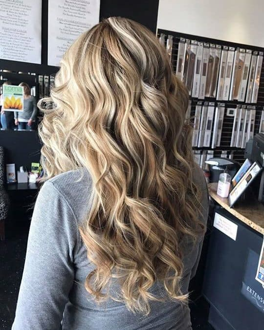 Beautiful Blonde! Call/Text (208)704-2216 to make your appointment today with Ta…