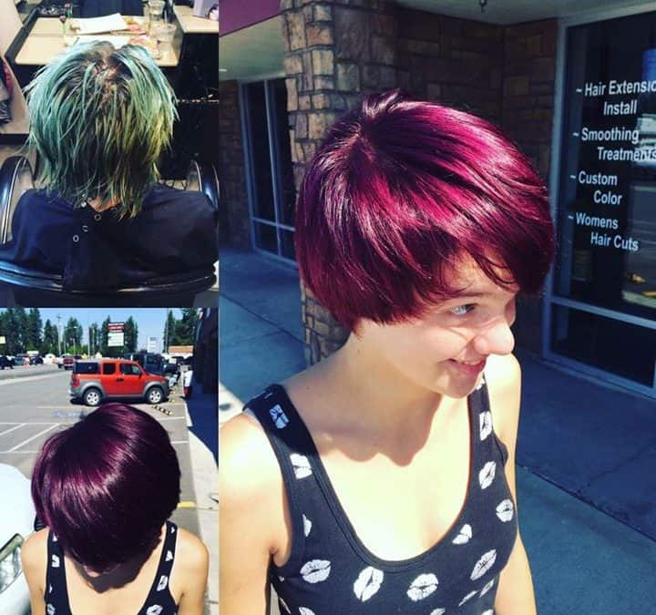 Get a FREE HAIRCUT with Kynzie when you book ANY color appointment!! Call us at …