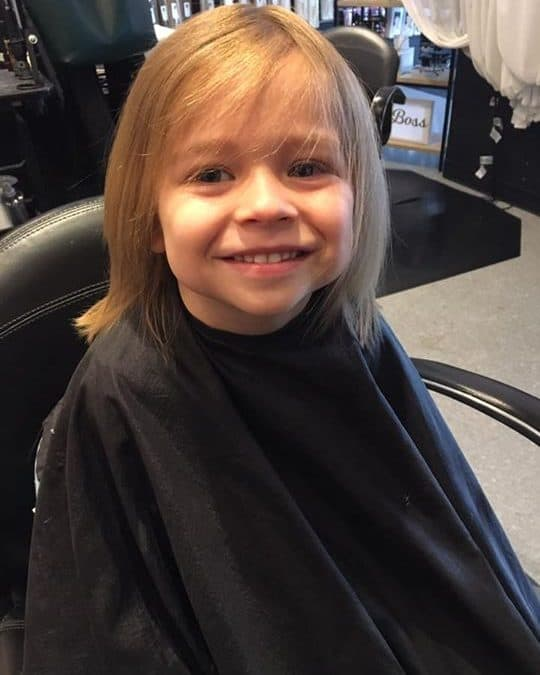 Birthday Haircut before and after  3 never looked so good! By: Chloe Reed
