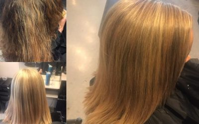 Beautiful before and after done by Kynzie ️