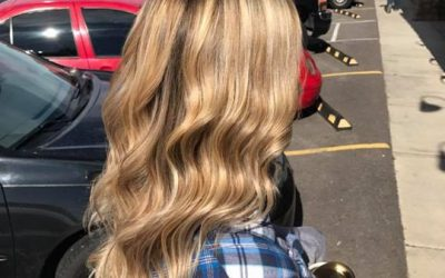 Perfect fall blonde done by Kynzie  call us at 208-719-9263 for appointments!