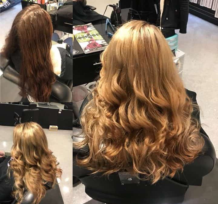 Beautiful before and after done by Kynzie! Call and make your appointments for t…