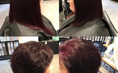 Another amazing before and after by Reina  #hairextension  #fusionextensions  #e…