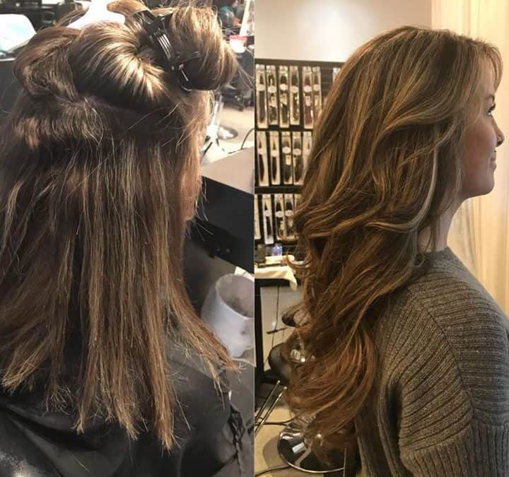 Clip on's… Hair Extensions are Amazing!! By Reina