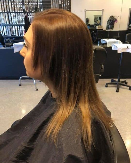 Tape in extensions done by Kynzie ️ instant gratification of longer, thicker, an…