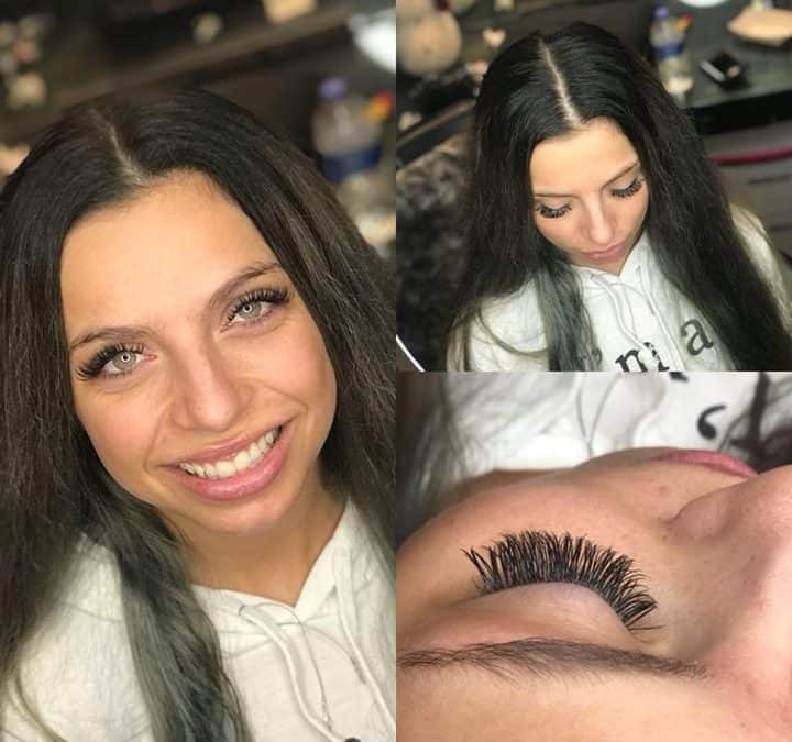 SPRING BREAK SPECIAL!  $40 off a full set of volume lashes with Ashley. Good thr…