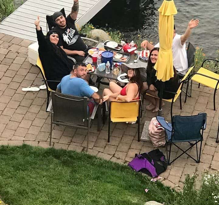 Happy 4th!!!!! Extension Addition Salon …. love our family!!  @ Post Falls, Id…