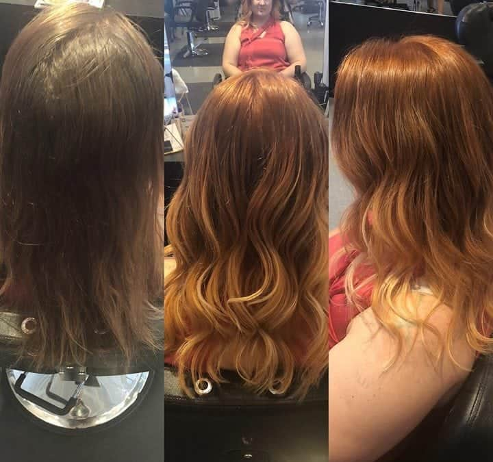 Transformation done by Kynzie! ️️️ appointments going fast! Book now  call us @ …