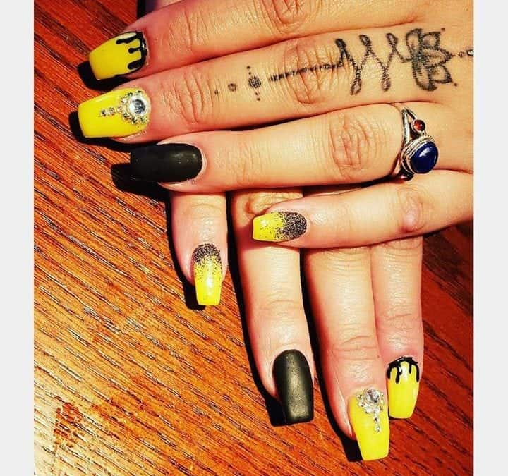 Nails by Kristen!   #nail  #nailart  #nailsofinstagram  #nailsalon  #newnailswho…