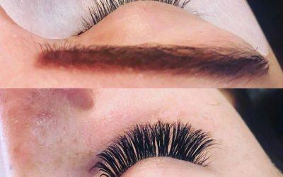 Before and after by Ashley!  @lashleyxoxo   #lashes  #eyelashes  #eyelashextensi…