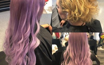 Color and extensions by Kynzie! @kynzie.adams  #behindthechair  #nbrextensions  …