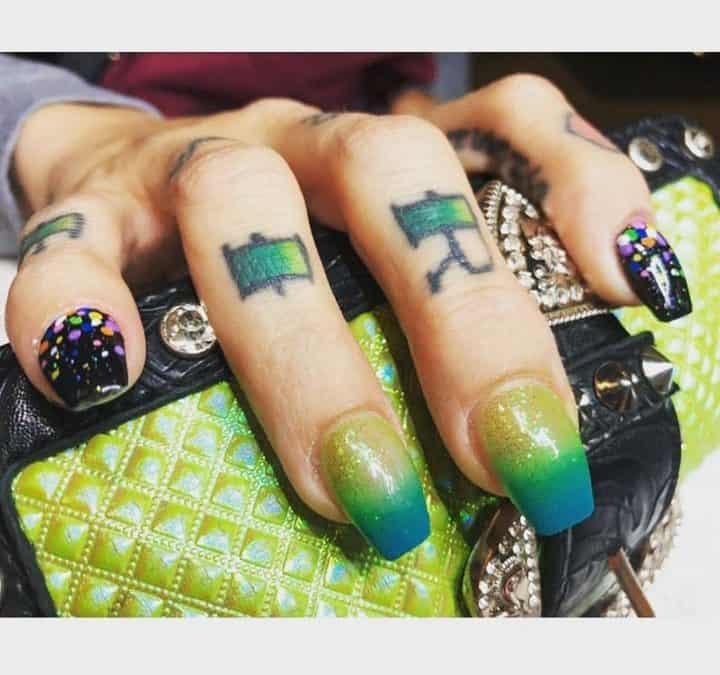 Nails by Danika! @Flirtynails_danika⠀  #nail  #nailart  #nailsofinstagram  #nail…