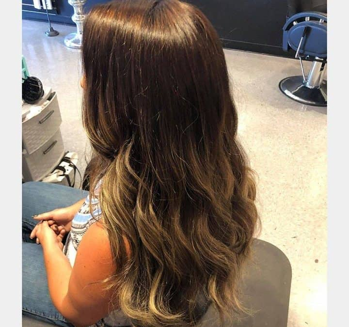 Hair by Kynzie! @kynzie.adams   #behindthechair  #nbrextensions  #haircut  #exte…